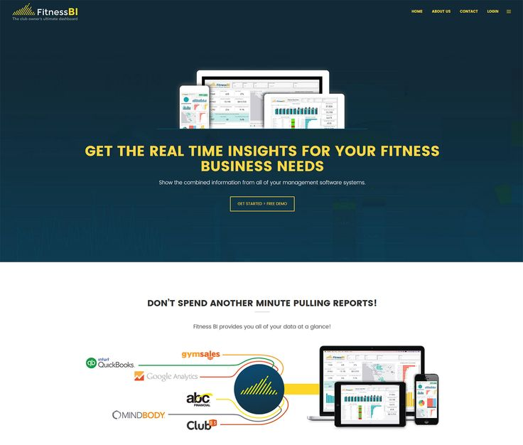 2016 / Website design for FitnessBI – the ultimate software for fitness club owners. #webdesign #webdevelopment #eggsmedia #websitedesign #fitness #software