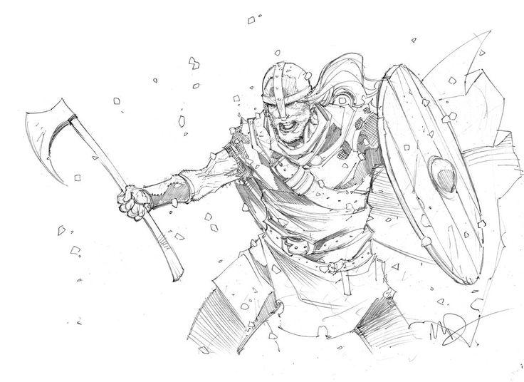Viking Berserker by Max-Dunbar.deviantart.com on @DeviantArt