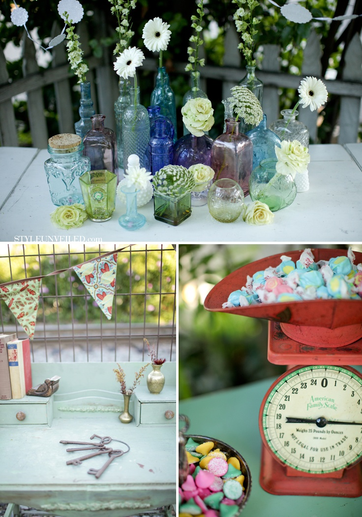 vintage outdoor wedding decorations 135 best wedding decor using colored glass images on 8291