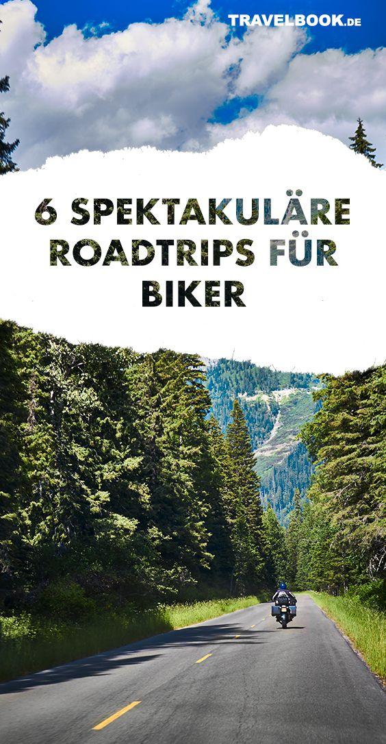 Die 6 schönsten Roadtrips für Biker