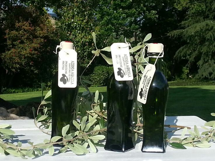 Olive oil. Produced and bottled in pignataro maggiore caserta italy
