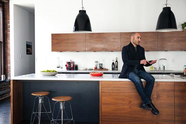 A modern industrial loft at FvF and Dean Di Simone