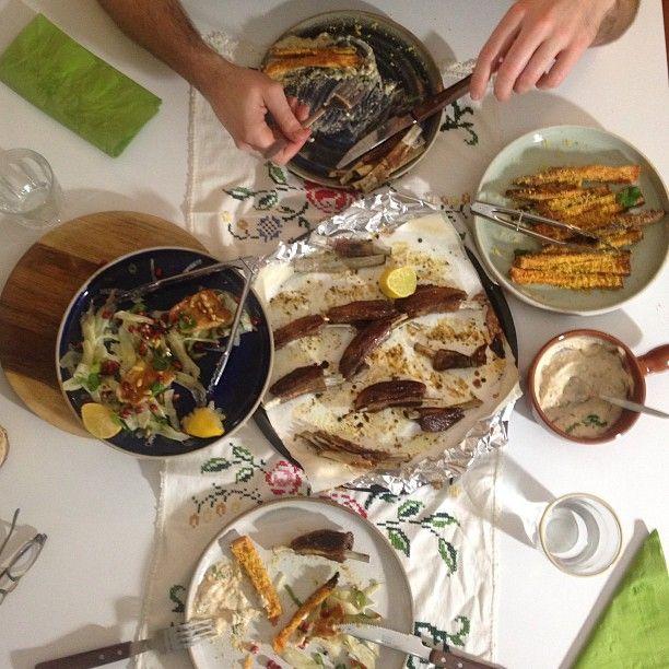 twice cooked lamb ribs feast