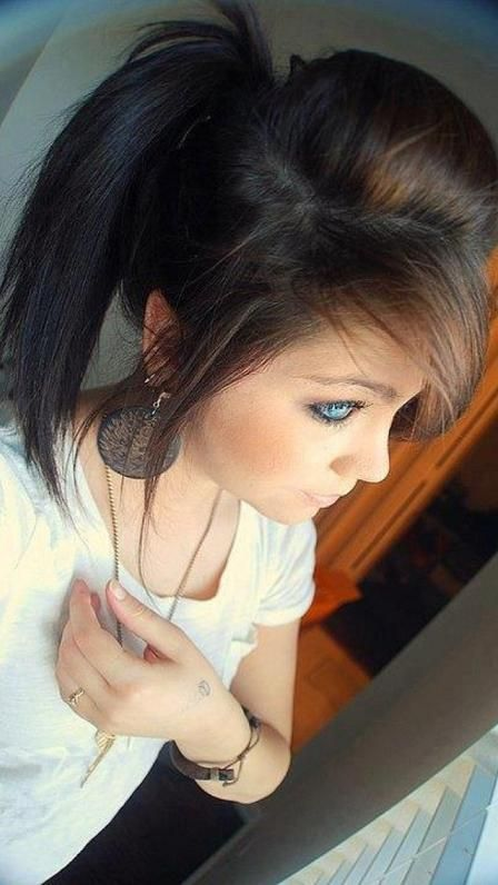 Ponytail & Bangs - Hairstyles and Beauty Tips