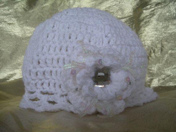Flapper Hat, Kids hat, Fancy girls hat, Flower hat, Vintage style hat, Crochet hat, Wedding, Vintage hat handmade by CelinaRoseDesigns on etsy, $15.00