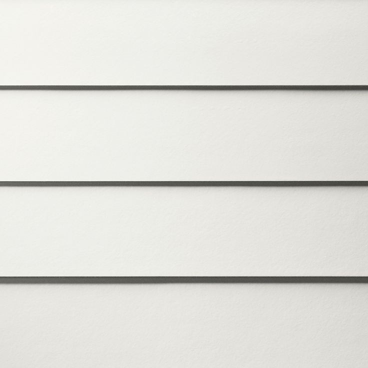 James Hardie HardiePlank Primed Arctic White Smooth Lap Fiber Cement Siding Panel (Actual: 0.312-in x 8.25-in x 144-in)