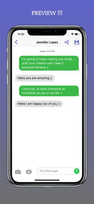 Text Now! on the App Store | Cool | Iphone texts, Fake text