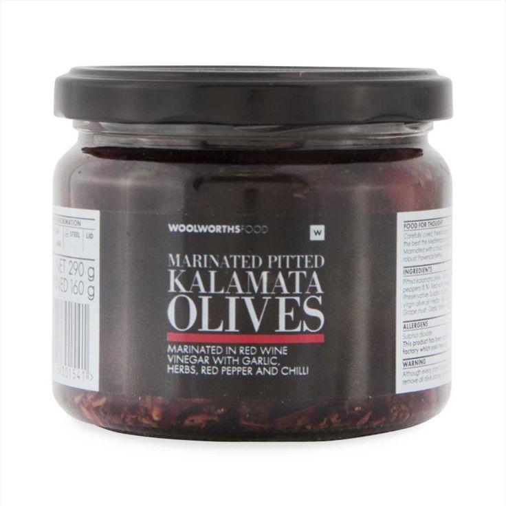 Marinated Pitted Kalamata Olives 290g