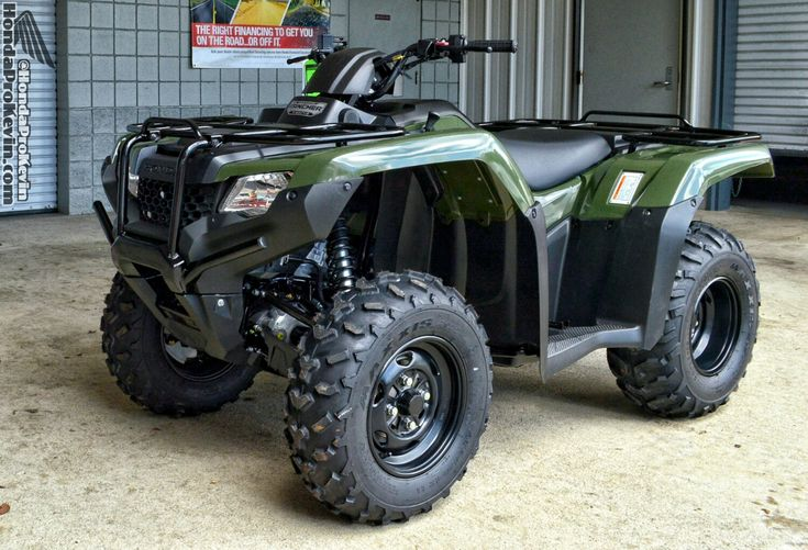 2016 Honda Rancher 420 ATV Review / Specs - Horsepower & Torque / Price / Features and more at www.HondaProKevin.com