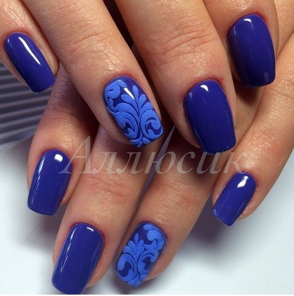 3d Nail Polish: 17 Best Ideas About Bright Blue Nails On Pinterest