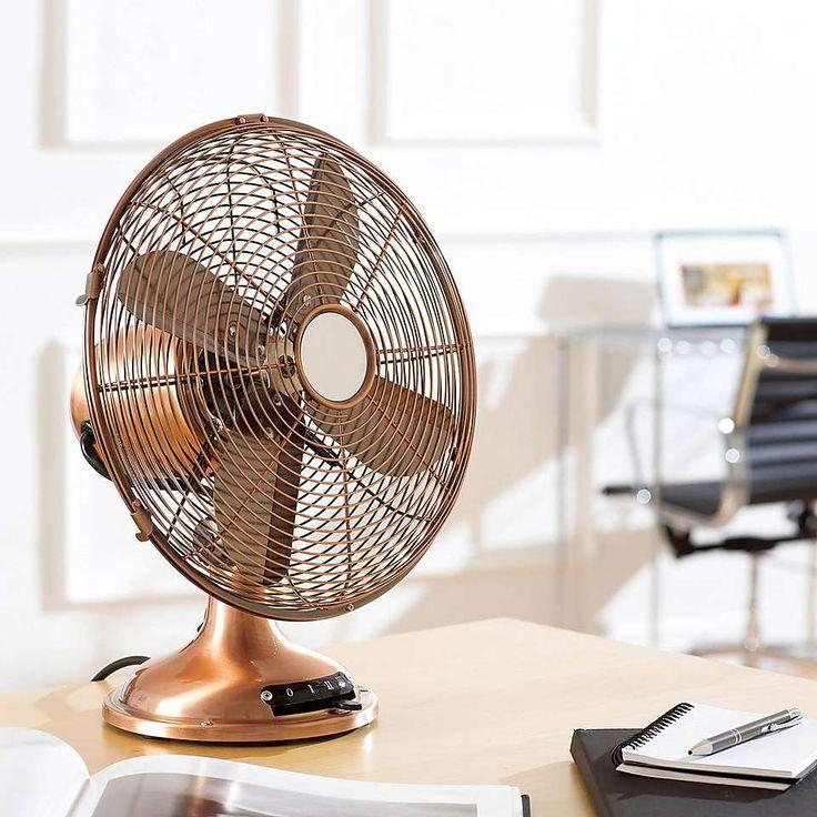 12 Inch Classic Desk Fan   Dunelm