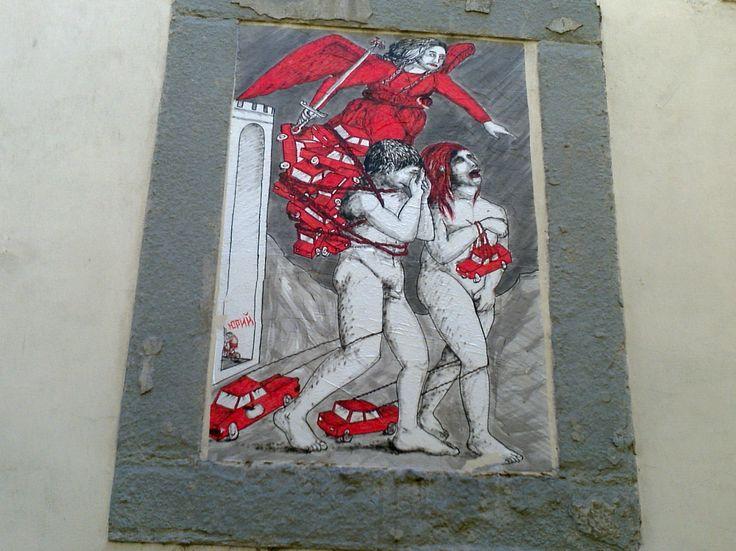 diAdriana Casalegno la street art è un modo di dialogare nel quotidiano, un linguaggio con altri punti di vista che aprono all'immaginario. Chiunque nella propria città, nel proprio quartiere può ...