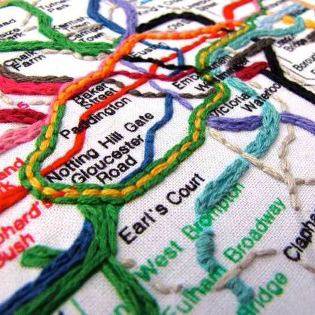 Even a London Underground Map can look beautiful