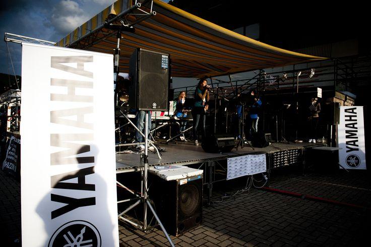 Palco Yamaha. FIM - Fiera Internazionale della Musica. 25 | 26 Maggio 2013. Ippodromo dei Fiori | Villanova d'Albenga (SV). www.fimfiera.it