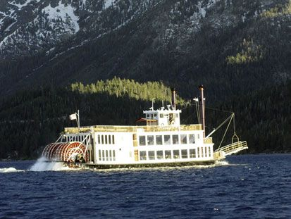 The Tahoe Queen - South Lake Tahoe Cruises - Zephyr Cove Resort