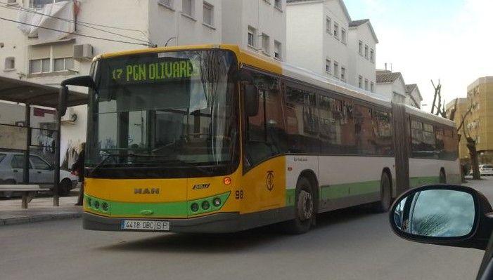 Restablecido el servicio de autobuses urbanos a Las Infantas tras finalizar las obras de la N-323