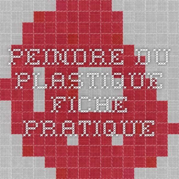 Les 55 meilleures images propos de restauration sur pinterest armoires tables et vaseline for Peindre sur du plastique