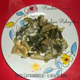 Jueves Gastronómico - Recetas Sanas: Acelgas rehogadas