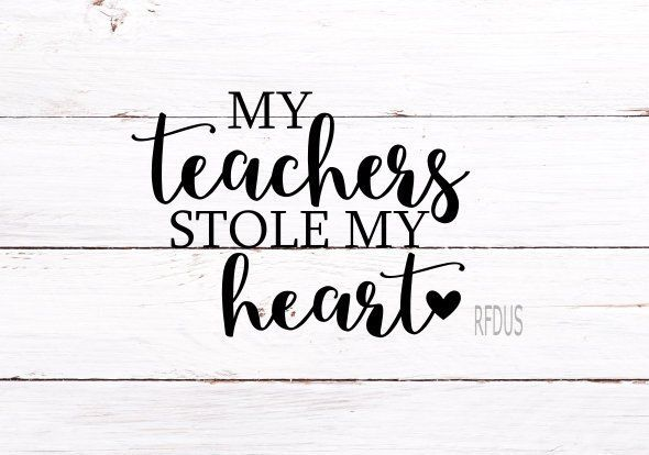 Download My teachers stole my heart svg, it takes a big heart to ...