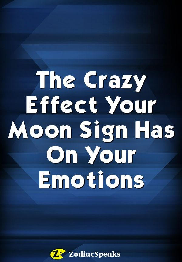 How moon sign astrology affects your emotions