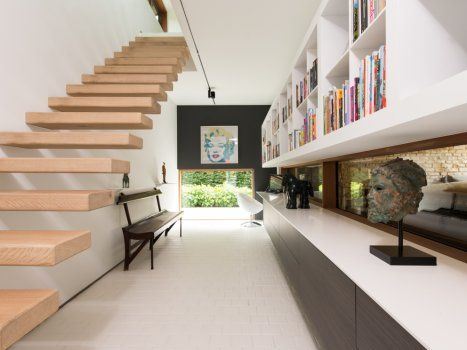 17 best images about zwevende trappen on pinterest architecture house and staircases - Huis met trap ...