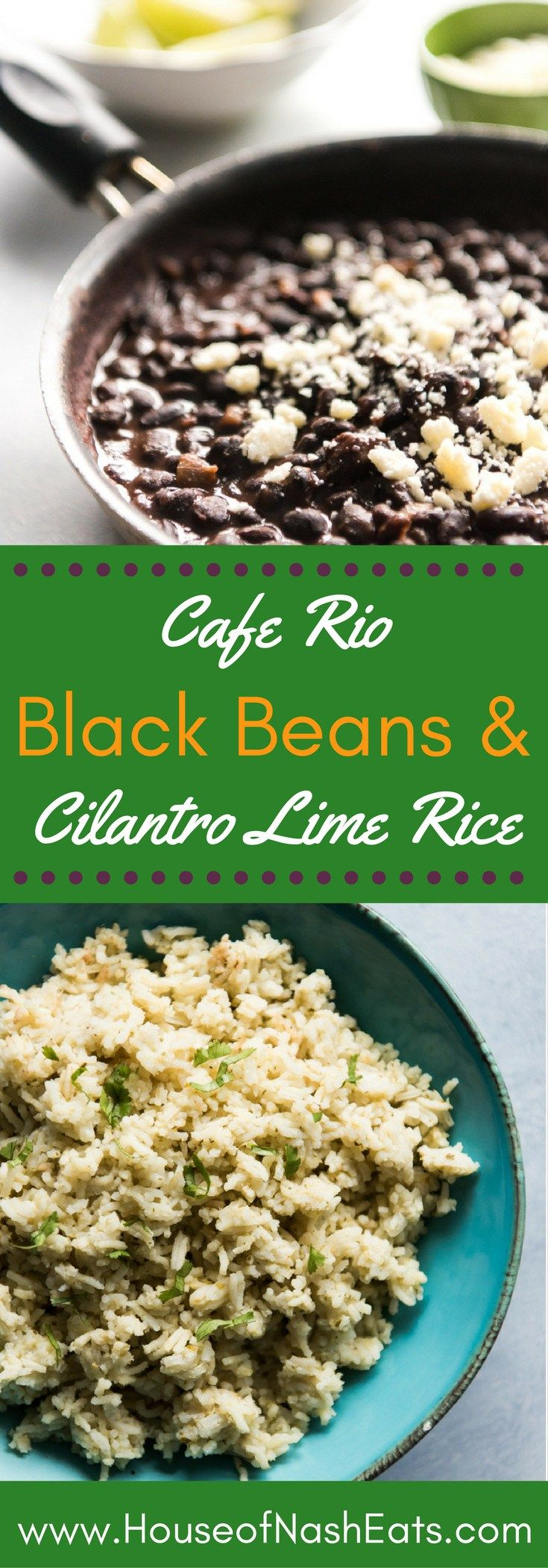 Cafe Rio Black Beans and Cilantro Lime Rice (Favorite Meals Black Beans)