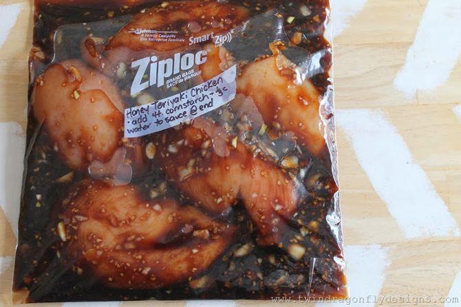 The 10 Best Crock-Pot Freezer Meals on the Internet- honey teriyaki chicken