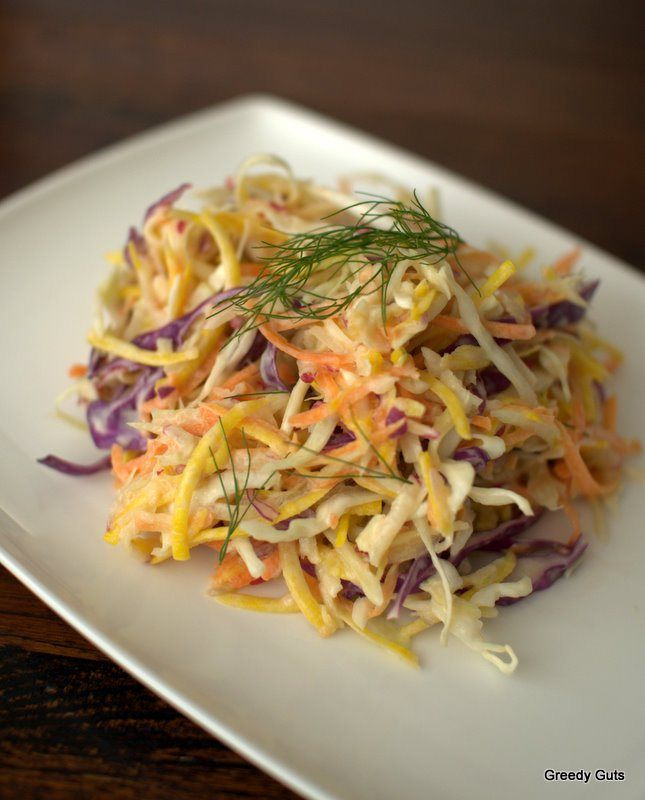 Jamie Oliver's Coleslaw   The Culinary Adventures of a Greedy Guts