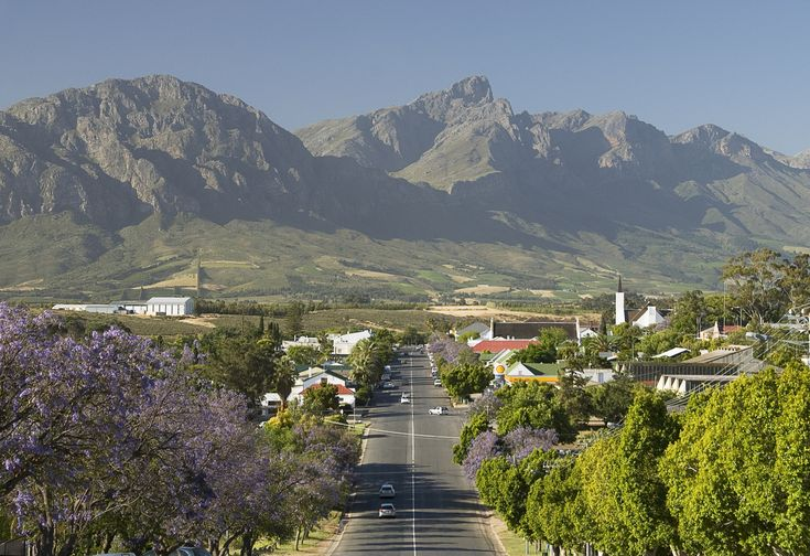 Tulbagh is a charming, historic small town about an hour and a half from Cape Town.