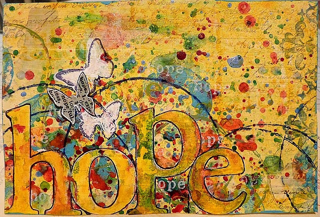 Hope ~ artist heidiologyart  #journal