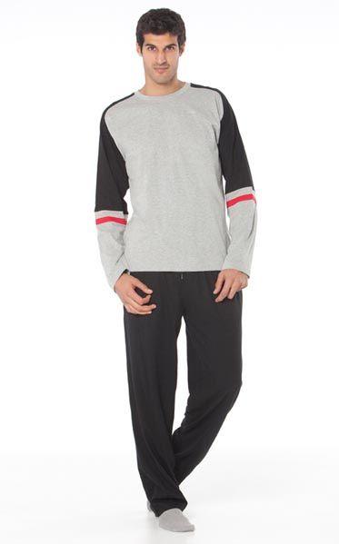 Pijama invierno hombre Punto Blanco modelo  Stability http://www.perfumeriaelajuar.com/homewear/pijama-hombre-invierno-/31/