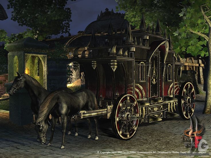 Huge black cart horse - perfect for Halloween! Show me