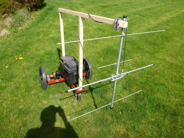 Ground penetrating radar . DIY