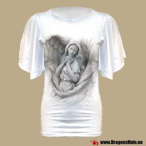 Topp: Spirit Wings Latin Viscose White fra DragensHule. Om denne nettbutikken: http://nettbutikknytt.no/dragens-hule-no/