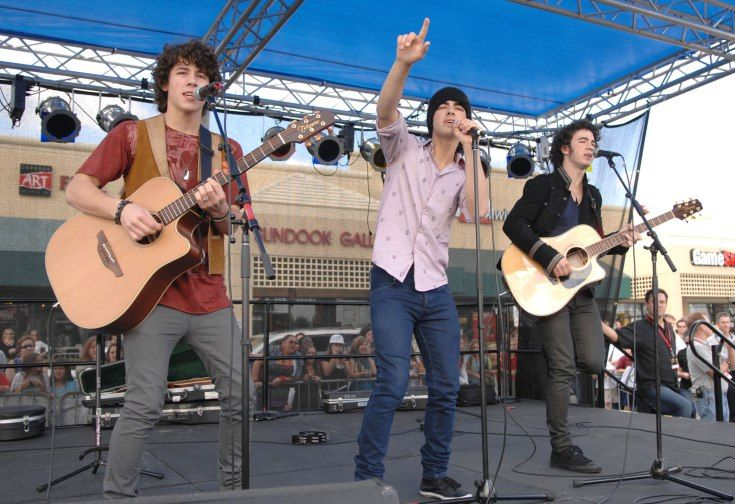 Jonas Brothers Appearance At Boca RatonMall
