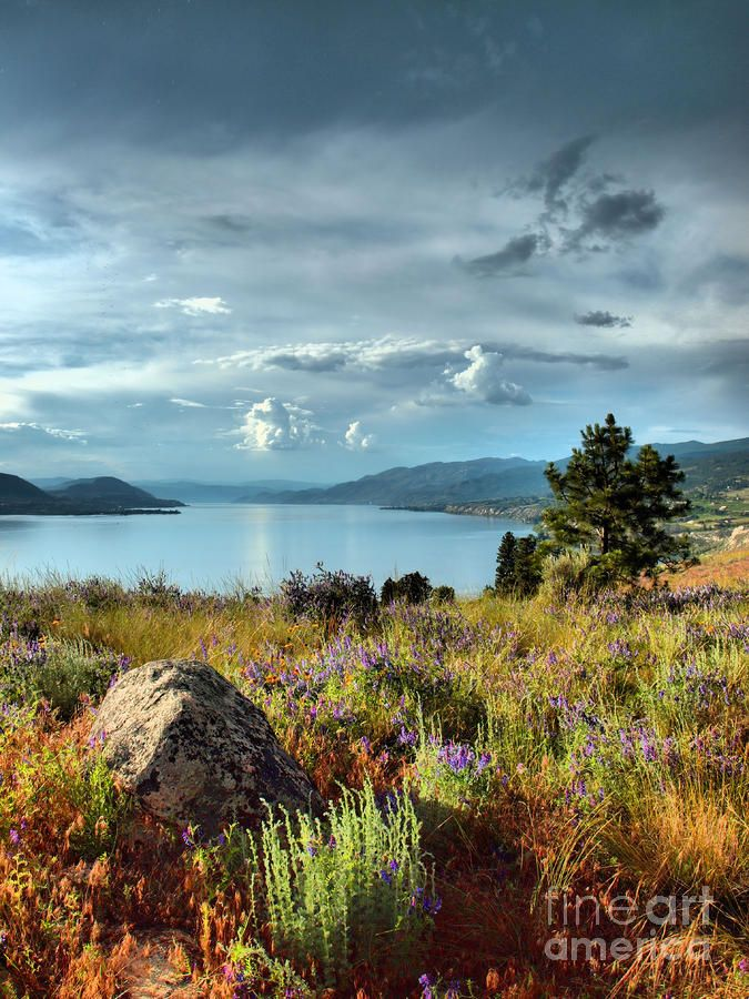 ✯ Okanagan Lake in the Spring - Canada