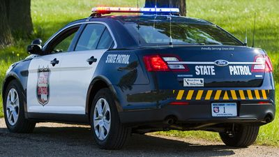 "Wisconsin State Patrol wins police vehicle design contest for new cruisers.    The design has a traditional or ""retro"" look in honor of the upcoming 75th anniversary.    http://fox6now.com/2012/08/21/state-patrol-wins-police-vehicle-design-contest-for-new-cruisers/"