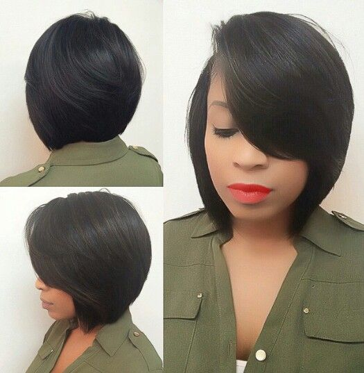 Super 1000 Ideas About Black Bob Hairstyles On Pinterest Black Bob Hairstyle Inspiration Daily Dogsangcom