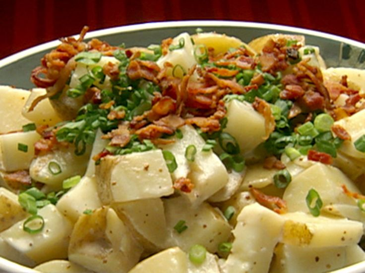 Potato Salad recipe from Robert Irvine via Food Network