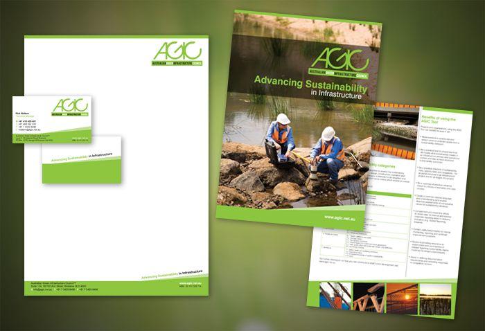 AGIC Brochure Design