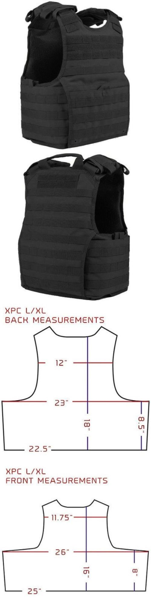 Chest Rigs and Tactical Vests 177891: Condor Xpc Black Exo Spear/Balc Molle Armor Plate Carrier Tactical Vest L/Xl -> BUY IT NOW ONLY: $73.95 on eBay!