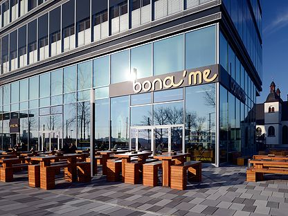 bona´me - Restaurant · Lounge - Köln-Deutz, Kennedyplatz 2, Tel. 0221-94999252, www.bona-me.de