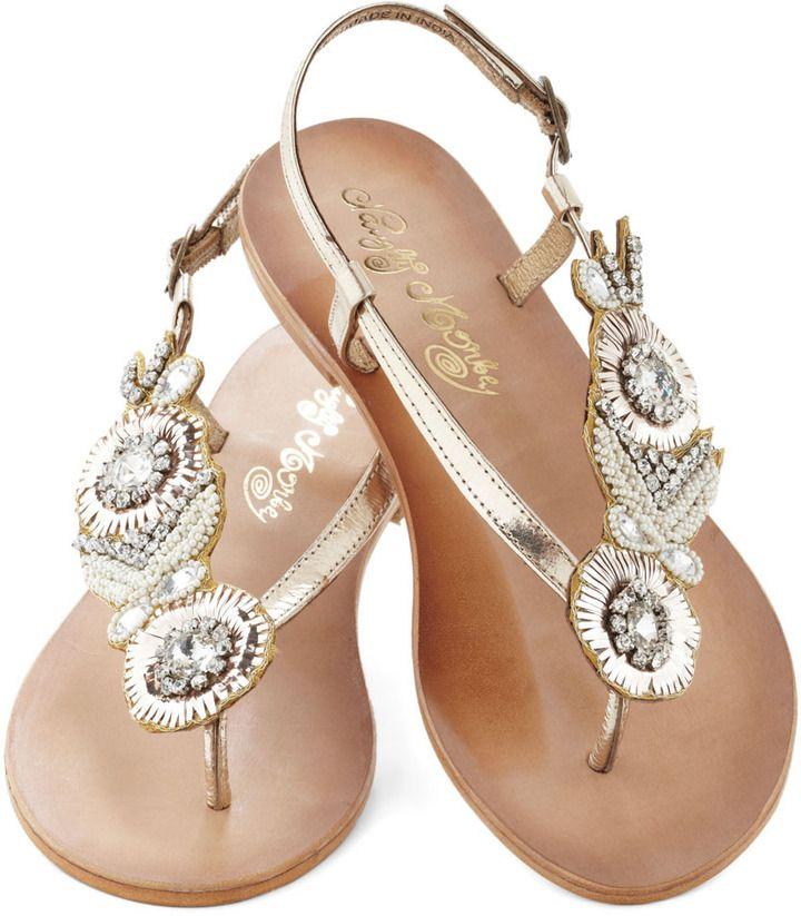 beach wedding sandals - Google Search