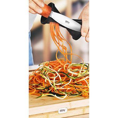Gefu Spirelli® Spiral Slicer - BedBathandBeyond.com. Unitasker, but might be worth it.