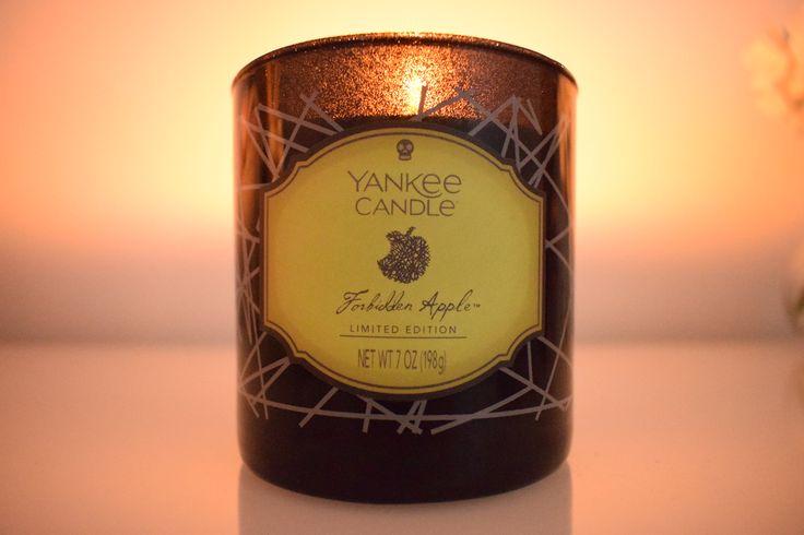 Forbidden Apple Yankee Candle | www.georgiaanne.co.uk