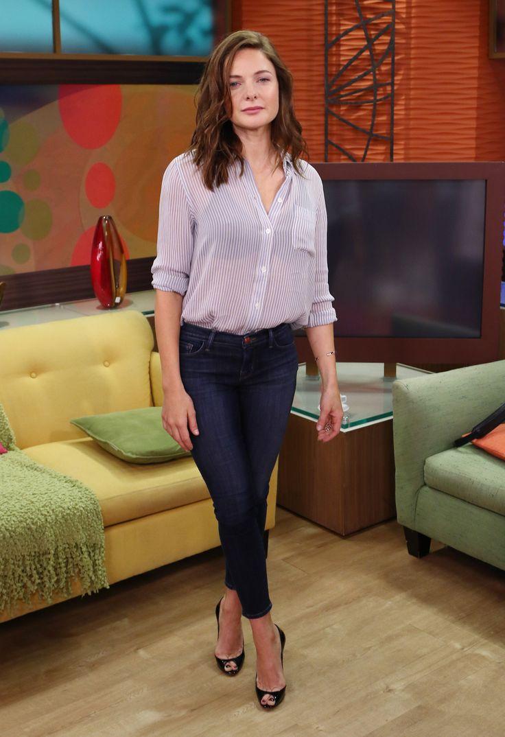 """Rebecca Ferguson - """"Despierta America"""" appearance in Miami, July 13, 2015"""