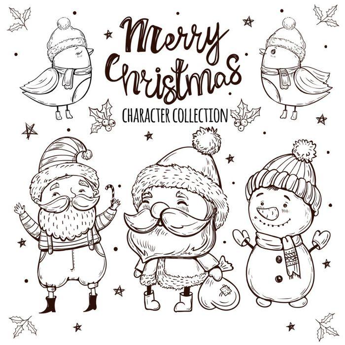 московских новогодние открытки черно белые дизайнеры