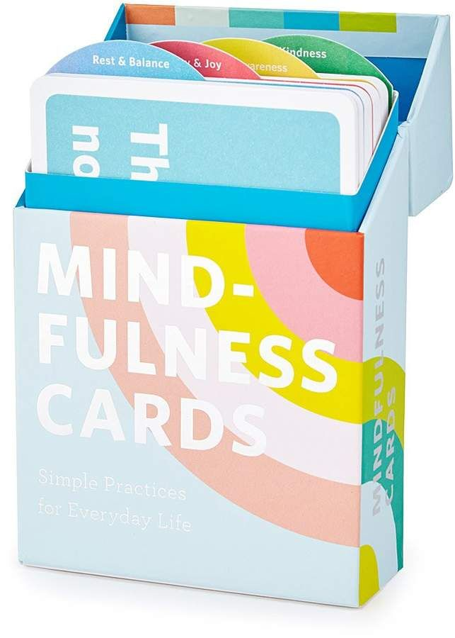 Mindfulness Card Set Give The Gift Of Peace Of Mind And Body