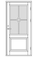 Dörrmodellserie ED22 | www.allmoge.se