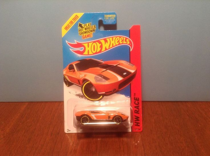 Hot Wheels Ford Shelby GR-1 Concept #178 of 250 Track Aces 2015 Orange #HotWheels #Ford